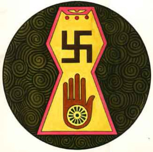 The Loka or Jain Symbol