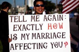 Gay marriage affects
