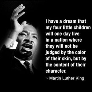ML King on Character