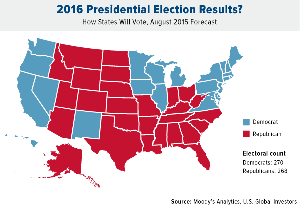 2016 Presidential Election Map
