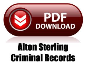 Alton Sterling Criminal Records